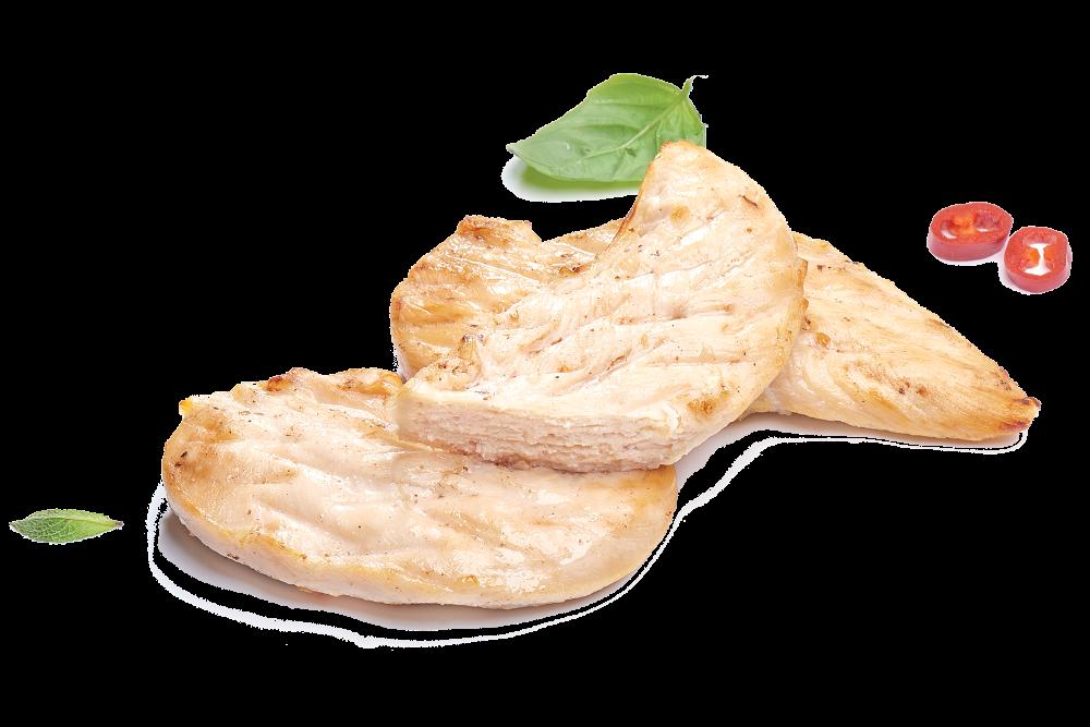 Кусочки куриного филе жаренные