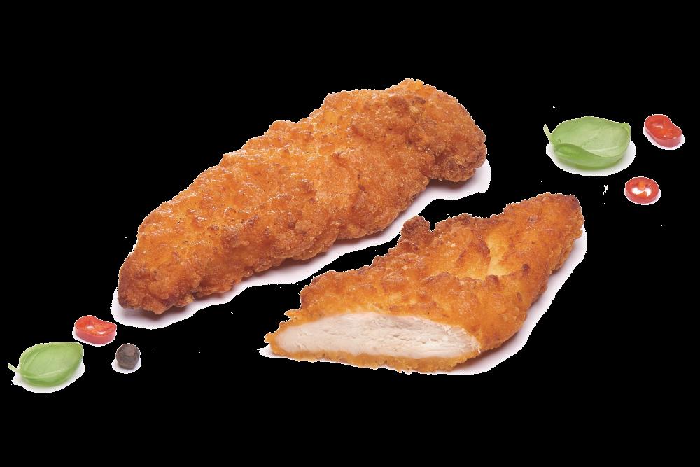 Остро-сладкие куриные стрипсы с чили